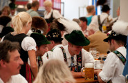 The summer festival in Partenkirchen