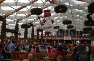 The Hofbrau Tent at Oktoberfest - Bavarian Beer Vacations
