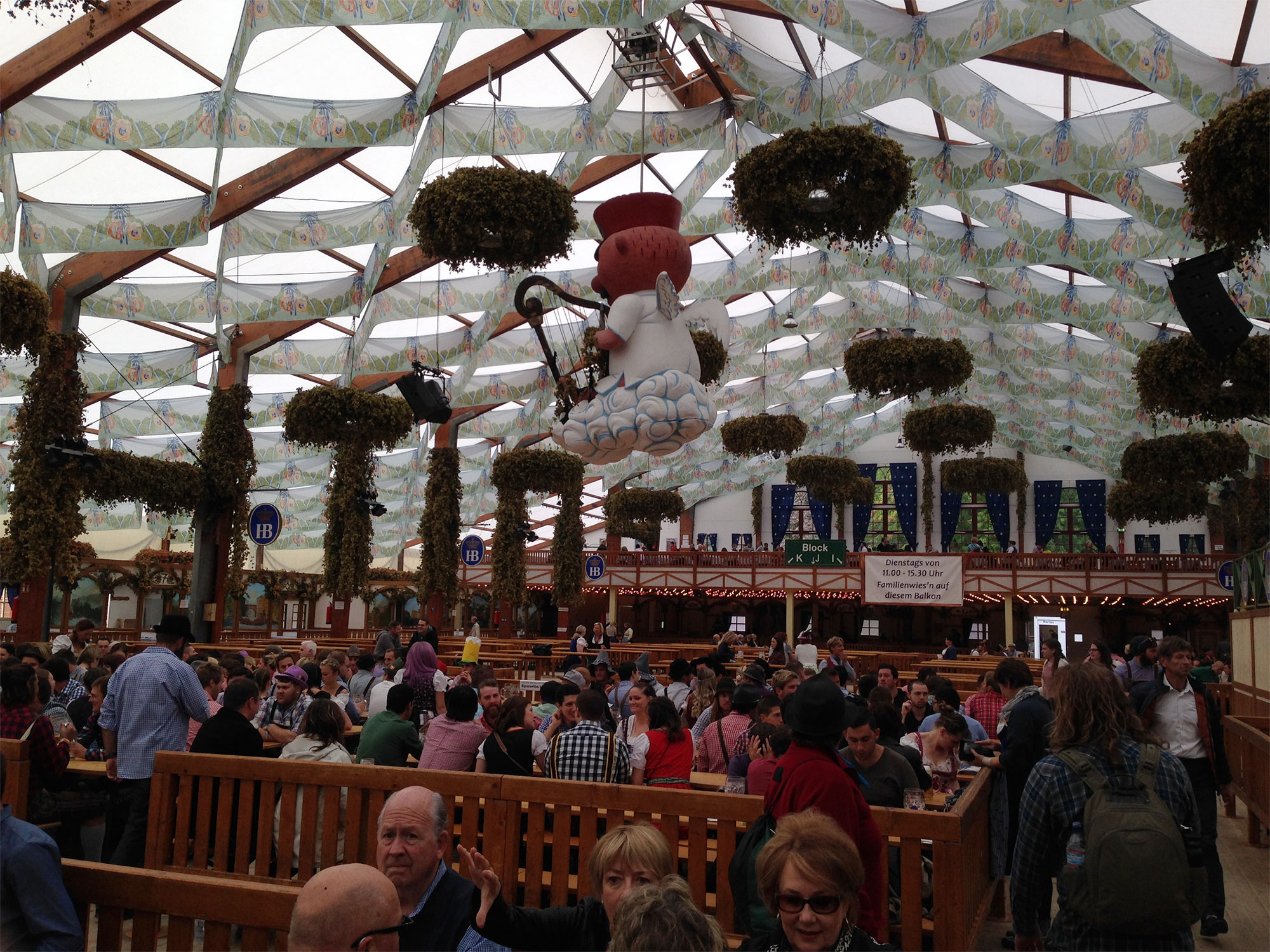 The Hofbrau Tent at Oktoberfest - Bavarian Beer Vacations  sc 1 st  Bavarian Beer Vacations & Oktoberfest 2018 Vacation Packages | Bavarian Beer Vacations