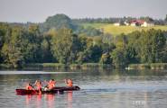 Summer canoe trip in the Kochelsee - Bavarian Beer Vacations Packages