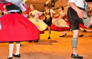 Dancing at the summer festival in Garmisch