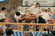 Finger Hakeln - A Bavarian tradition of trying to rip another mans joints apart
