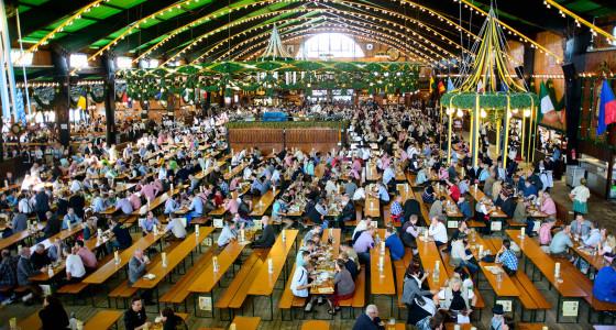 Oktoberfest Augustiner tent