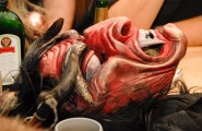 Krampus Mask - Krampus Tours by Bavarian Beer Vacations