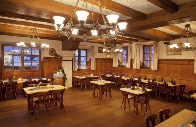 the history of Bavaria in a beer hall